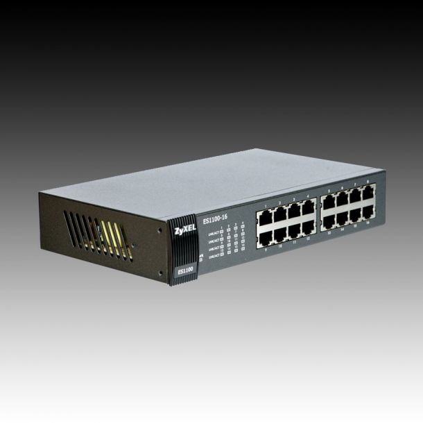 Data Networking Equipment - Switch - Switch ZYXEL ES1100-16 16 x 10