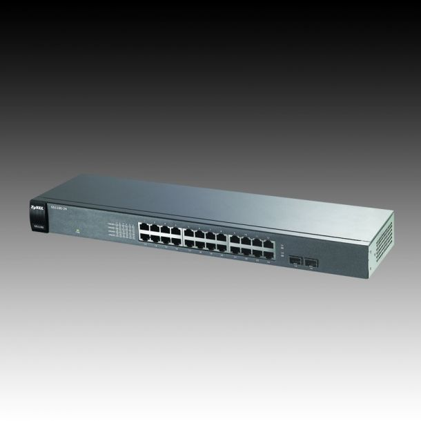 Data Networking Equipment - Switch - Switch ZYXEL GS1100-24 26 ports